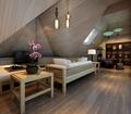 5-10万140平米三室一厅中式风格阁楼图片