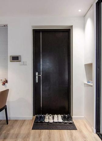 5-10万120平米三室两厅现代简约风格玄关设计图