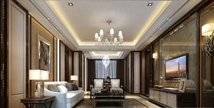 20万以上140平米复式新古典风格客厅图