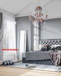 豪华型60平米混搭风格卧室设计图