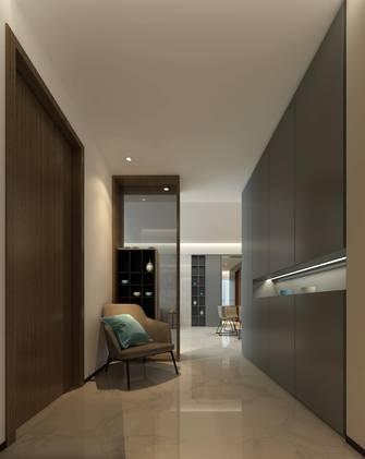 20万以上140平米三室两厅现代简约风格玄关图