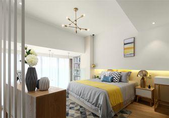 富裕型60平米复式北欧风格卧室图片大全