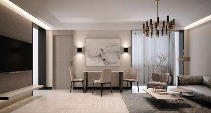 经济型80平米公寓现代简约风格餐厅图片大全