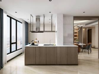 90平米三室三厅轻奢风格厨房欣赏图