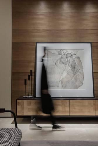 三中式风格客厅装修效果图