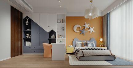 20万以上140平米中式风格青少年房设计图