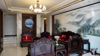 豪华型140平米四中式风格客厅欣赏图