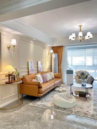 140平米三轻奢风格客厅装修效果图