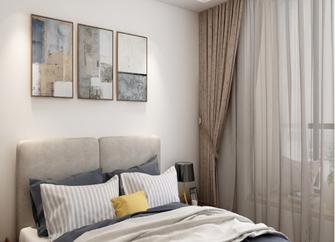 富裕型140平米三室一厅现代简约风格卧室装修效果图