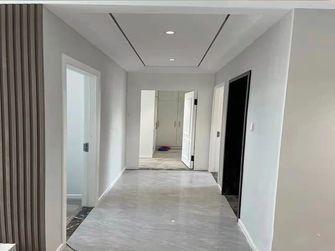 90平米三室两厅现代简约风格走廊图