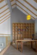豪华型140平米复式日式风格书房设计图
