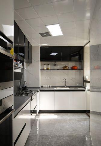 10-15万90平米三室两厅轻奢风格厨房装修效果图