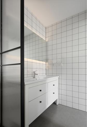 经济型70平米一室两厅北欧风格卫生间装修效果图