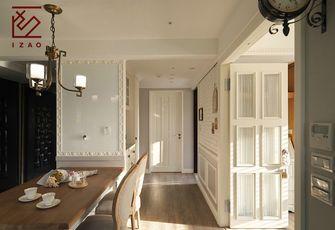 富裕型110平米三室两厅美式风格阳台图