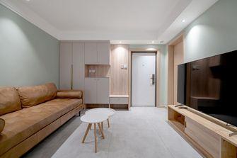 富裕型90平米北欧风格客厅效果图