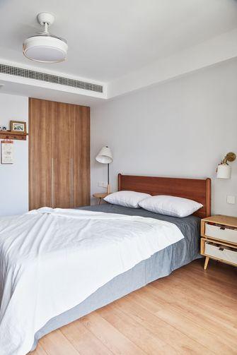 5-10万60平米三室两厅日式风格卧室图
