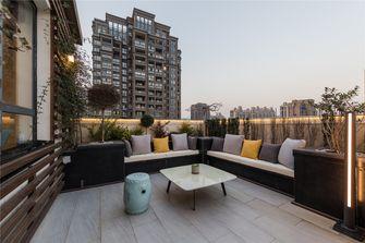 140平米别墅现代简约风格阳台效果图
