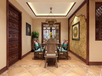 130平米三东南亚风格餐厅图片