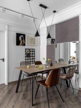 10-15万110平米三室一厅北欧风格餐厅欣赏图
