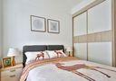 经济型110平米北欧风格卧室设计图