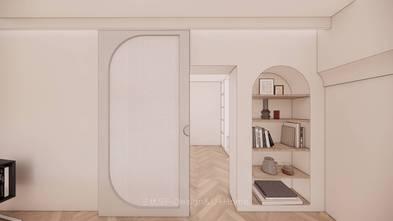70平米一室两厅北欧风格衣帽间图