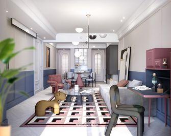 豪华型130平米三室两厅英伦风格客厅欣赏图