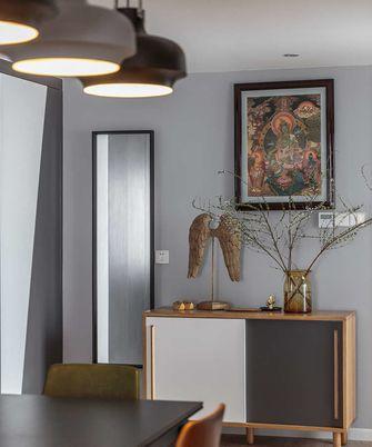 富裕型130平米三现代简约风格玄关效果图