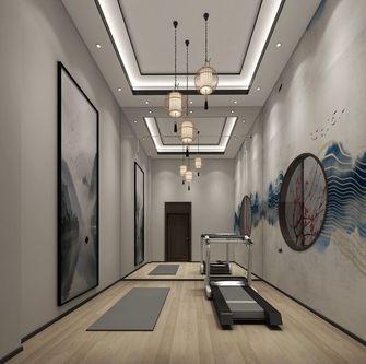 140平米别墅中式风格健身房设计图