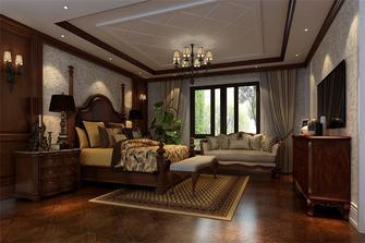 110平米三室两厅欧式风格卧室效果图