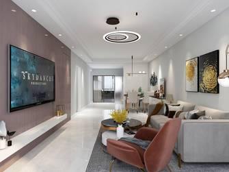 5-10万110平米三室三厅轻奢风格客厅欣赏图