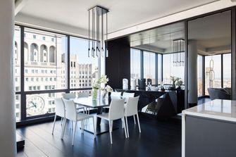 富裕型130平米四英伦风格餐厅欣赏图