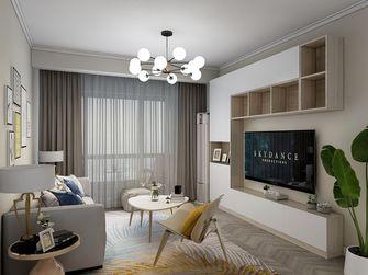 富裕型100平米现代简约风格客厅装修案例