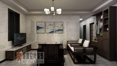 10-15万120平米三室两厅中式风格客厅图