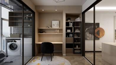 110平米三室两厅日式风格书房装修效果图