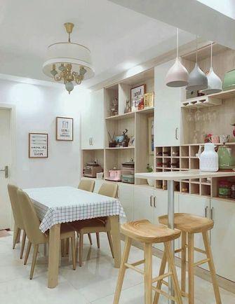 5-10万60平米公寓混搭风格餐厅图