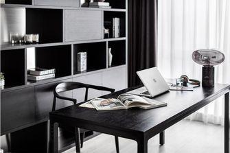 富裕型110平米三室两厅现代简约风格书房效果图