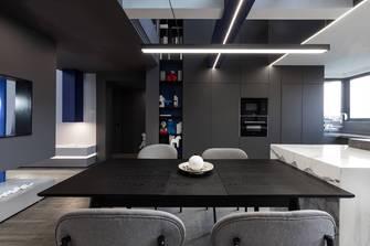 20万以上140平米复式混搭风格餐厅设计图