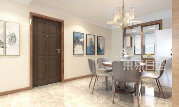 豪华型130平米三室两厅中式风格餐厅装修案例