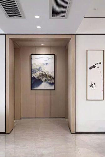 20万以上130平米三室一厅中式风格走廊装修图片大全