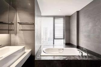 富裕型120平米三室两厅现代简约风格卫生间欣赏图