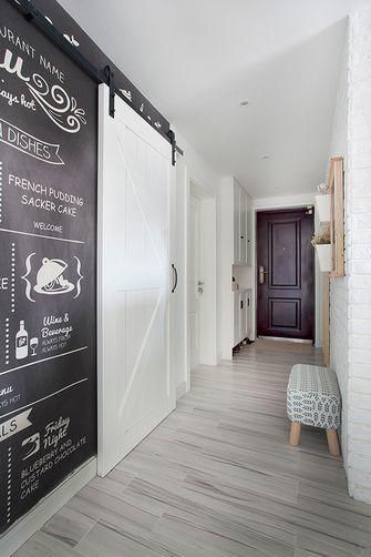 富裕型90平米三室两厅北欧风格玄关装修案例