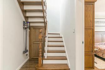 10-15万140平米复式美式风格楼梯间装修效果图
