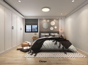 20万以上120平米三室两厅现代简约风格卧室图