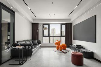 豪华型120平米三室两厅现代简约风格客厅装修图片大全