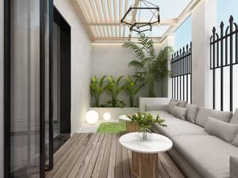 140平米法式风格阳台装修效果图