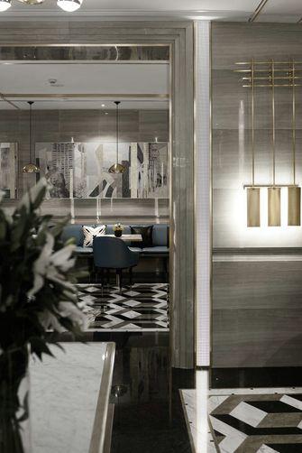 110平米三轻奢风格客厅装修案例