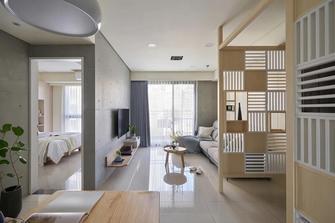 经济型70平米三室两厅日式风格客厅装修图片大全