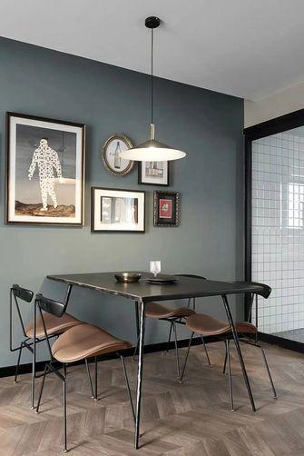 5-10万90平米三室两厅北欧风格餐厅图片大全