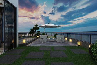 豪华型140平米复式中式风格阳台欣赏图