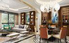140平米复式欧式风格餐厅图